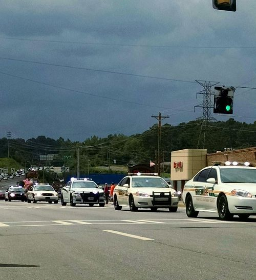Need For Speed Taking Photos Funeral Procession Police Department Fallen Heroes Taking Photos Rememberance Cars