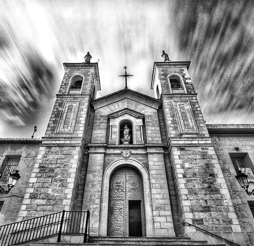 Santuario del Castillo Architecture Cloud - Sky Building Exterior Built Structure Low Angle View Sky Religion Spirituality Day Outdoors History Place Of Worship Travel Destinations No People Façade