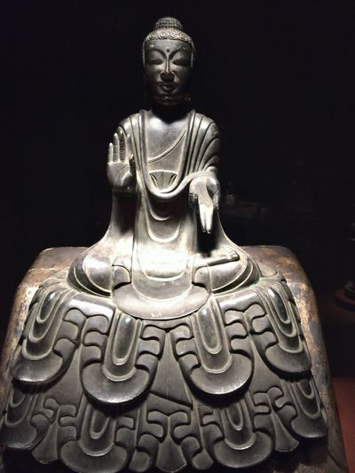 如来坐像 Seated Nyorai 上野 東博