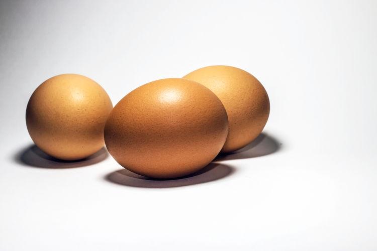 Fresh egg on a