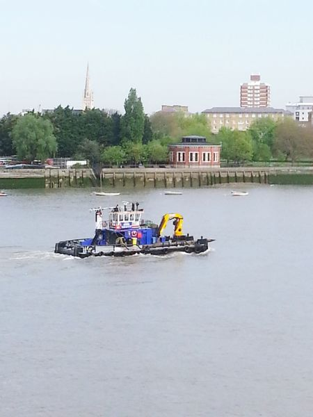 Working Boat River Thames