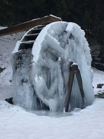 Water Wheel in