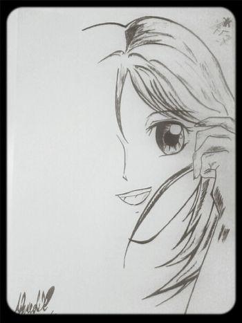 My Drawing Sketch Art Anime
