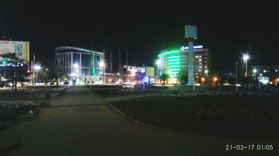 Night Illuminated City Outdoors Architecture No People Sky