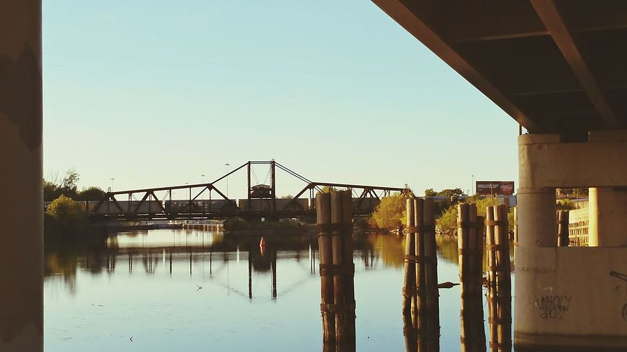 Bridge - Man Made Structure Built Structure Water No People Outdoors Beautiful Buffalo Earth's My Turf