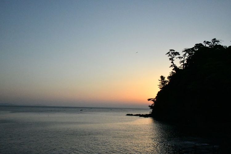 Sky Water Sea Scenics - Nature Beauty In Nature Tranquility Sunset