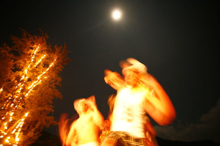 Full Moon Blurred Motion Bonfire Burning Close-up Flame Full Moon Night  Full Moon Party Glowing Heat - Temperature Illuminated Long Exposure Low Angle View Moon Motion Nature Night No People Outdoors Perty Sky