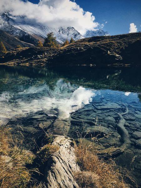Nature Evolène Mountain Beauty In Nature Water Landscape Scenics Wallis Switzerland Arolla Blue Lake Lacbleu Discover  Editjunky Beautifulplaces Igersswitzerland