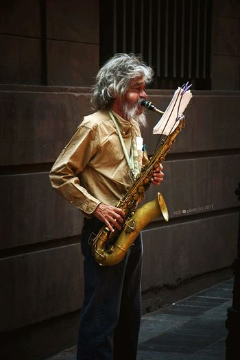 Old Man Sax Mexico City Cdmx Streetphotography Nikon D7100 Senior Adult Musical Instrument Music Arts Culture And Entertainment One Person Musician Adult Outdoors One Man Only People Adults Only Playing Performance Standing Only Men Gray Hair Night Saxophone Indoors