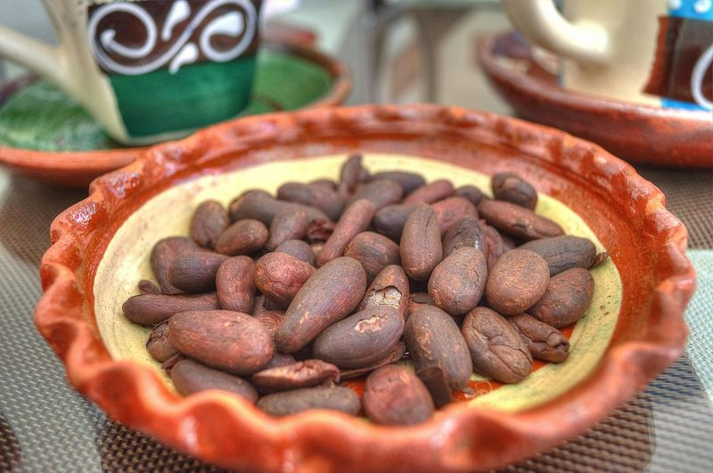 Roasted cocoa for the elaboración of Chocolate Cacaco Chocolates Chocolate♡ Close-up Craft Day Food Food And Drink Freshness Healthy Eating Indoors  No People Ready-to-eat