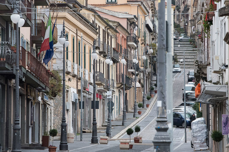 city center of vibo valentia Old Town Architecture Building Calabria City Day No People Outdoors Streetphotography Vibo Valenta