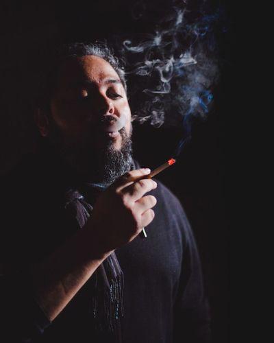 Smoke. Smoke Cigarette  Black Men Blackground Boy Man Dgph First Eyeem Photo