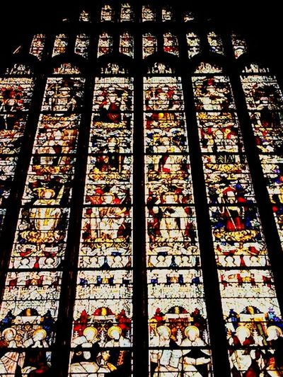 Cathedral Church Stained Glass Window Shadows Symetry The Places I've Been Today Symetry...