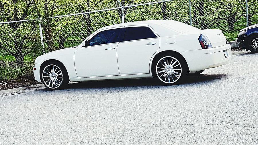 Whiteonwhite Freshness Beauty Redefined Car Outdoors Ballin!
