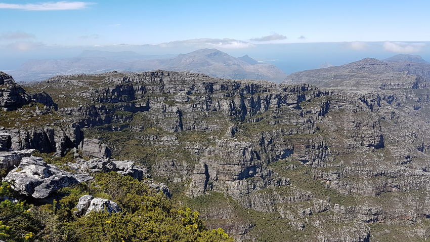12 Apostles. Cape Town Table Mountain Backdrop To Display Glory South Africa 🇿🇦 Beauty In Creation  Cape Town, South Africa God's Glory On Display  Mountain Range Freshness Western Cape Beauty In Nature