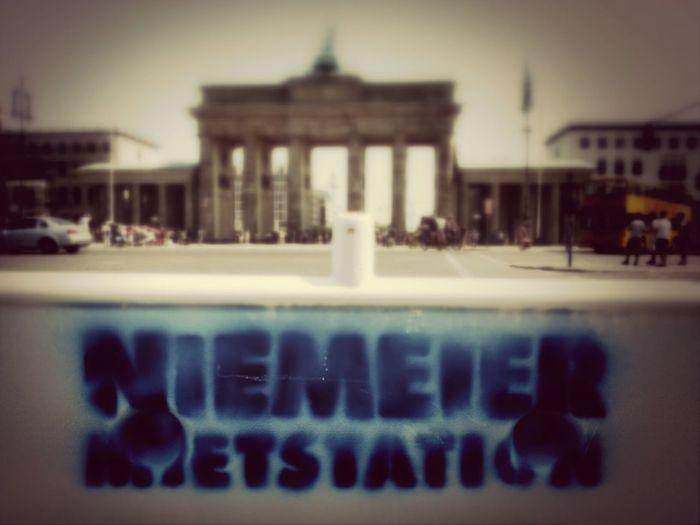 Playing Tourist Sightseeing Brandenburggate AMPt - My Perspective