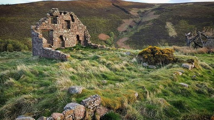 Lost in Time I liked the zig-zag composition leading to the ruin, I wonder what it looked like originally? Nature History Beautiful Ruins Calm Sunset Spring WOW Cairnomount Textures Aberdeenshire Banchory Landscape Arcitecture Scotspirit POTD Photooftheday Visitaberdeenshire Instascotland Visitabdn VisitScotland @visitabdn Britains_talent Loves_Scotland Brilliantmoments