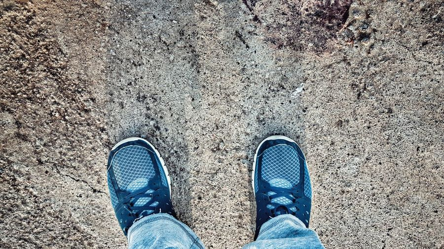 Shoes View From Above Looking Down From My Point Of View Athletics Sportshoes Human Body Part Legs Legs_only Legsselfie Footwear Pair Two Of A Kind Shoes Of The Day Getting In Shape Getting Creative Running Time Running