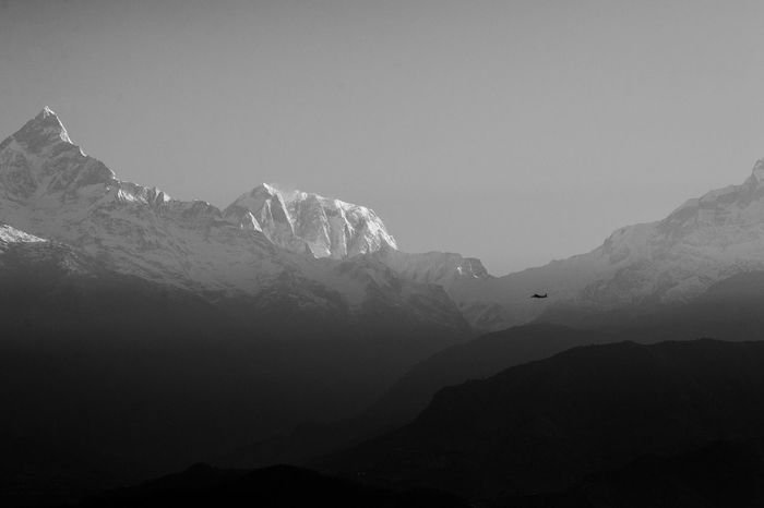 Protecting Where We Play a flight flies near the fishtail range Nepal Sarangkot Nature Mountains Edge Of The World