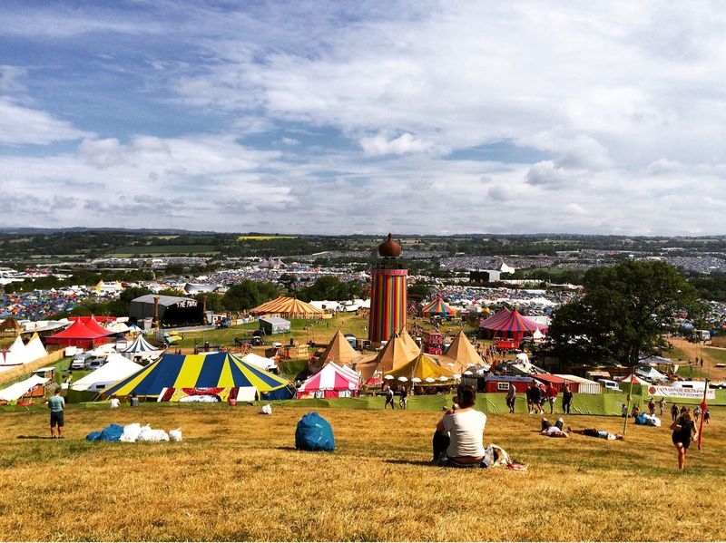 The Park, Glastonbury Festival June 2015 Festival Glastonbury Glastonbury 2015 Summer