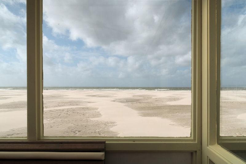 looking through window Lines Noth Sea Abstract Beach Cloud - Sky Day Looking Through Window Nature No People Sea Shore Sky Window EyeEmNewHere