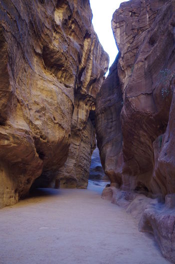 Canyon walls of