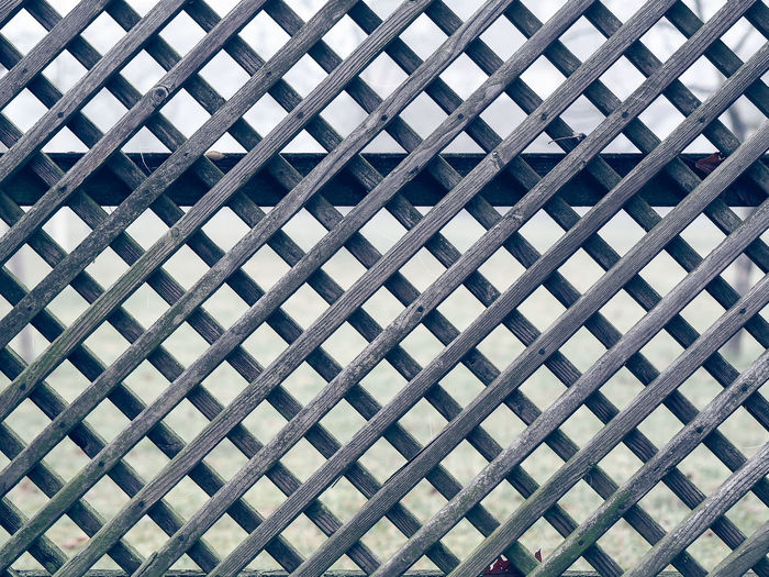 Jeans Brown Photography - Architecture Backgrounds Built Structure Close-up Day Fence Full Frame Low Angle View No People Outdoors Pattern Pattern Pieces Pattern, Texture, Shape And Form Patterns Patterns & Textures Seamless Pattern Sky Textured  Textured  Wood Wood Fence