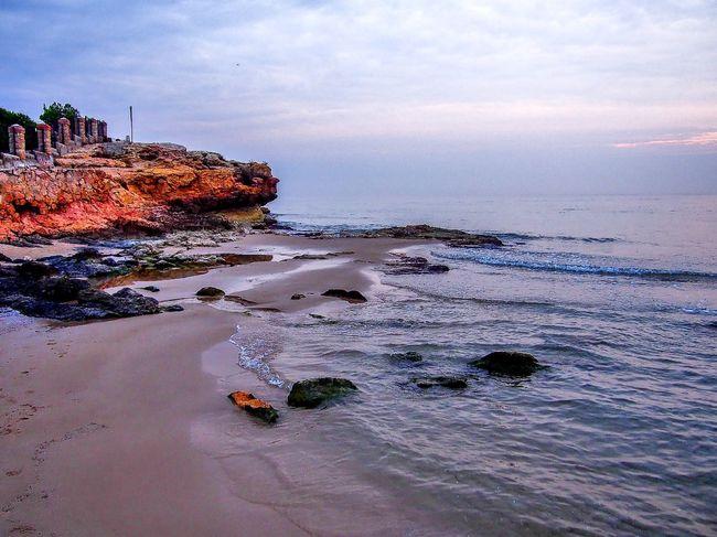 Playa de la Arrebassada Beach Blue Coastline Eye4photography  Horizon Over Water Outdoors Sea Taking Photos