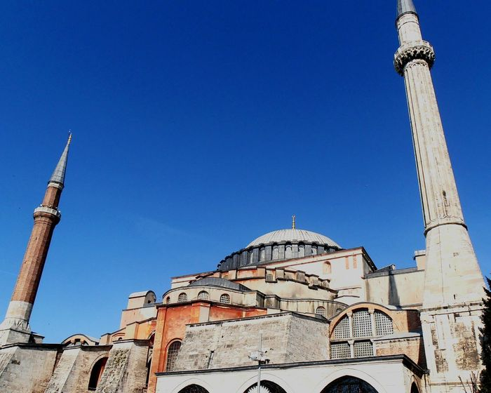 Blue Travel Destinations Architecture City History Place Of Worship Dome Sky No People Day Outdoors Ayasofya Ayasofya (Hagia Sophia) Hagiasophia  Mosque Kilise Church Hristiyan Islamic Camii Istanbul Turkey Ayasofya Museum Nature Musluman