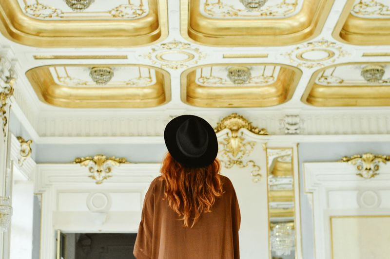 Rear View One Woman Only Waist Up Luxury Elégance Indoors  Lifestyles One Young Woman Only Visual Inspiration Tranquil Scene Full Frame From My Point Of View EyeEm Best Edits Master_shots EyeEmNewHere EyeEm Masterclass EyeEm Best Shots Masterclass Visualsoflife Close-up Architectural Feature Architectural Column Architecture_collection Gold Colored Theater Photography Art Is Everywhere The Secret Spaces EyeEm Diversity Art Is Everywhere The Portraitist - 2017 EyeEm Awards Break The Mold The Photojournalist - 2017 EyeEm Awards The Architect - 2017 EyeEm Awards The Week On EyeEm