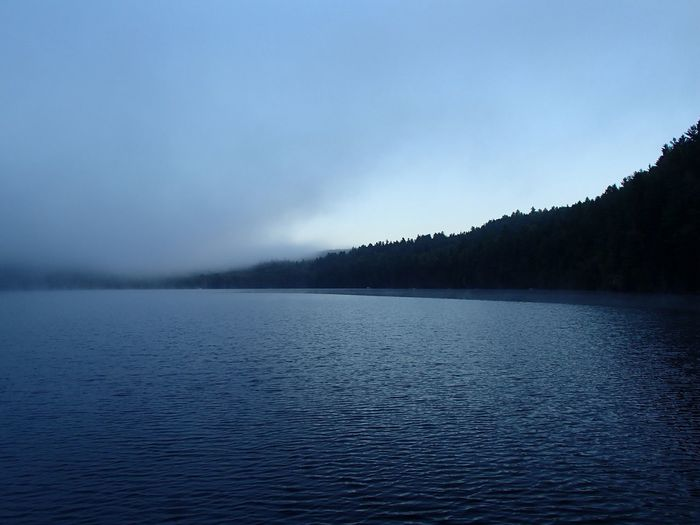 Brume matinale -Morning Mist (Lac Jackson, Mauricie) Mist Misty Morning Lake Water Beauty In Nature Scenics - Nature Tranquil Scene Tranquility Sky Non-urban Scene Rippled Idyllic