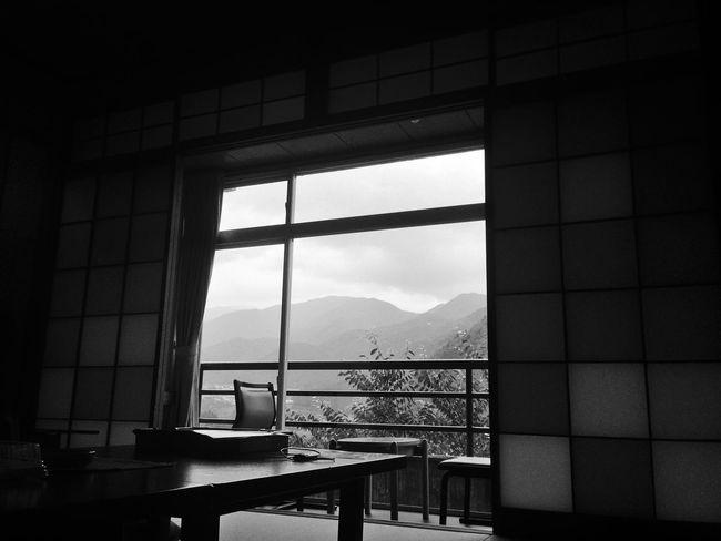 Nature On Your Doorstep Ryokan Japan Mountains Japanese  Blackandwhite Black And White Black & White EyeEm Best Shots EyeEm Best Edits