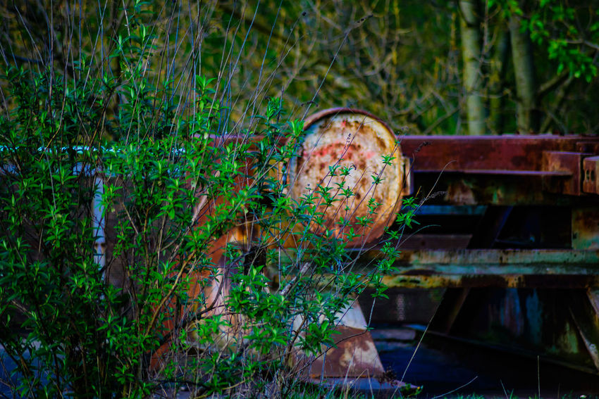 Abandoned Day Grass Green Color Nature Nature Vs Industry No People Obsolete Outdoors Rusty Steel Mill Industry EyeEm Gallery EyeEm New Here EyeEmNewHere Nikon D600 Full Frame Eyeemphotography My Point Of View