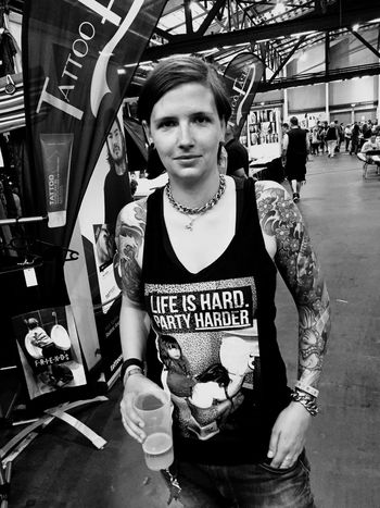 Convention 2015 ... #arena #berlin #tattooconvention #tattoo #tattoolife #tattooconventionberlin #berlintattoo #ink #japaneseart #jananeseink #japanesetattoo #boneltattooer #nightlinertattoo #nightlintattooberlin