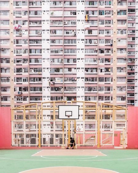 EyeEm Best Shots EyeEm Gallery Eye4photography  The Week on EyeEm Architectural Column One Person One Man Only EyeEm Selects Pastel Residential Building The Architect - 2018 EyeEm Awards City Ghetto Architecture Building Exterior Built Structure Pile Weathered Full Frame Textured