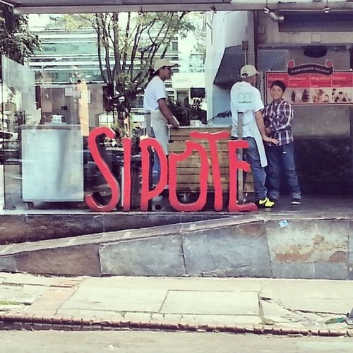 Sipote. ParqueLa93 Bogotá Colombia Street