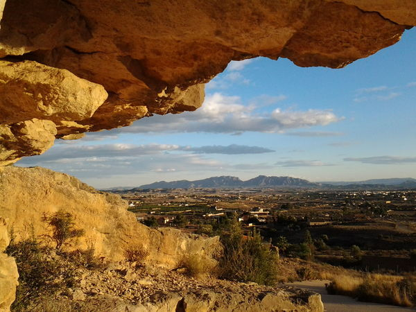 View under rocks Spain_beautiful_landscapes Spain_vacations Spainphotographer Murcia Provincia Mountain Landscape Cloud - Sky Mountain Range Scenics Nature Beauty In Nature Travel Destinations Outdoors Desert No People Rock - Object Day Sky