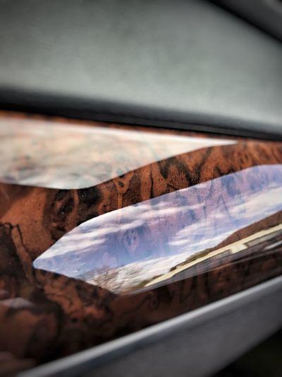 Close-up Day Car Interior Sky Wood - Material