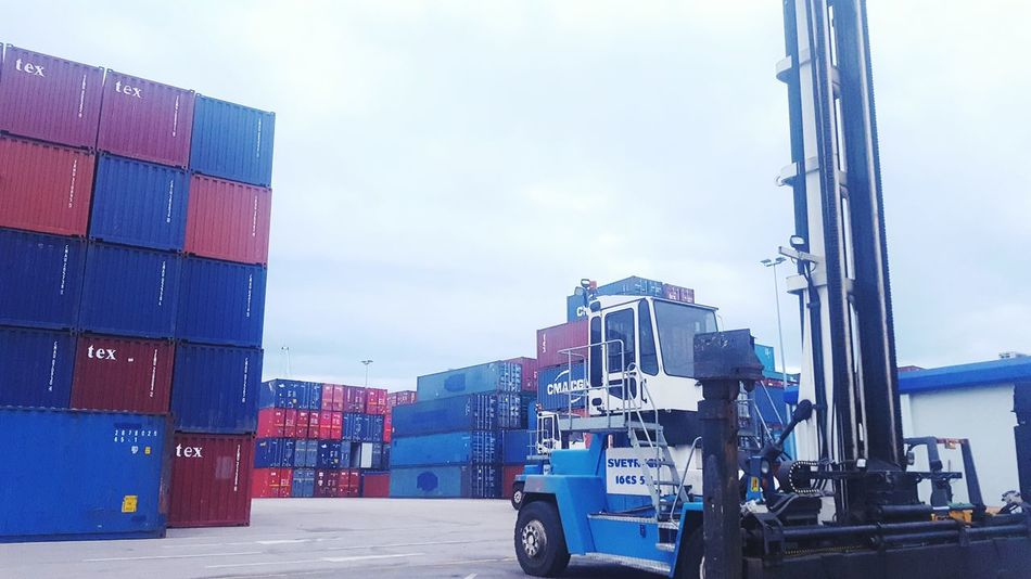 Business Finance And Industry Shipping  Outdoors Day No People Tranport Logistics Shipping Docks Shipping Containers Container Container Port Container Terminal Docks Dockside View