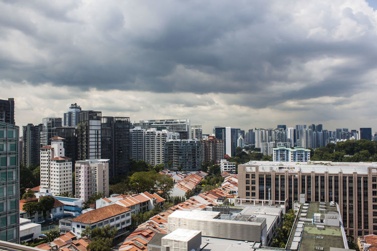Building Exterior Architecture Built Structure Cloud - Sky City Building Sky Cityscape High Angle View Day Tall - High Outdoors Modern Apartment