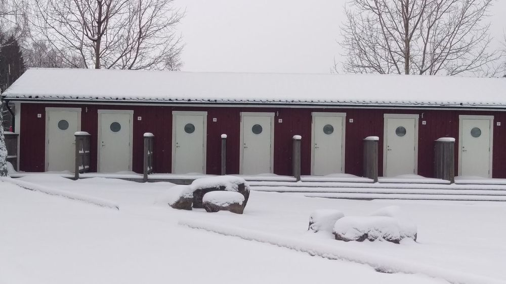 It's Cold Outside Camping Rooms Building Single Rooms Kolmården Winter Snow Cold Sweden Snow Covered Northern Europe Snow ❄ Scandia Scandinavia Sverige Tourism Architecture Wooden Building