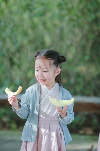 Child Childhood Focus On Foreground Outdoors Girls One Girl Only Children Only People Young Women Smiling Beauty China Portrait Popular Photos OpenEdit EyeEm Gallery Beautiful Day Cute Old-fashioned