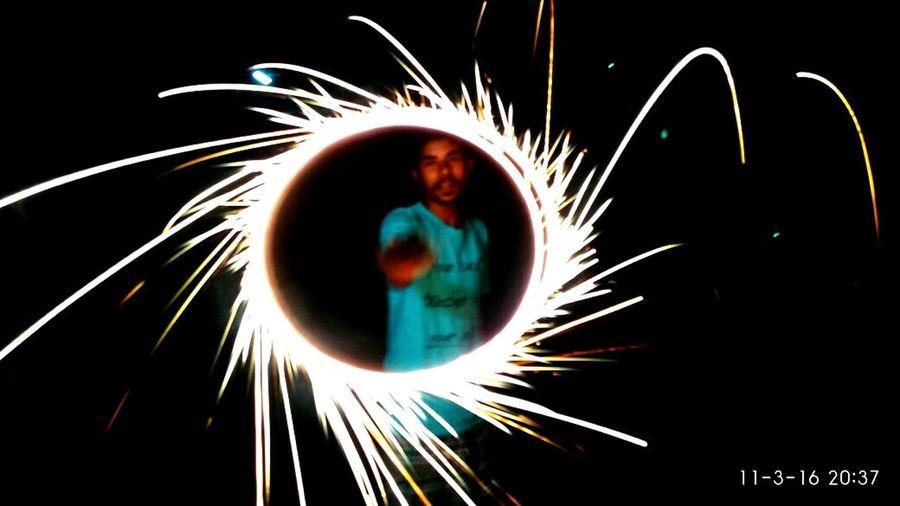 Light And Reflection Vignesh0t Long Exposure Firework🎆 Diwali2016 Diwali💟🎇🎆🌌 Saatai Light Rail VPhotography