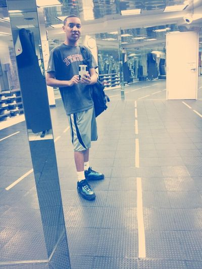 Just Finished Hoopin.