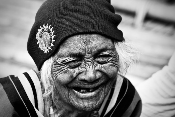 Tribos Tatoolifestyle Portrait Headshot Real People One Person Front View Lifestyles The Portraitist - 2018 EyeEm Awards Senior Adult Wrinkled Human Face
