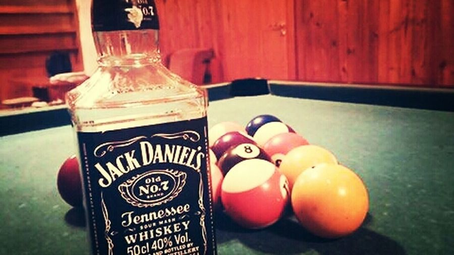 Friends and Jack. Nothing else. Jackdaniels 8pool Jack Friends