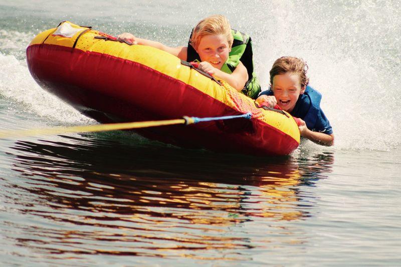 Summer lake fun