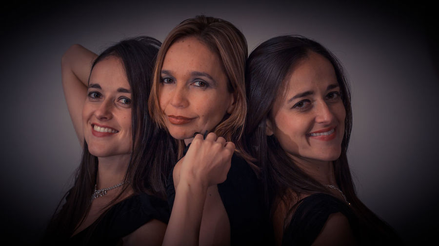 Portrait Of Happy Female Friends