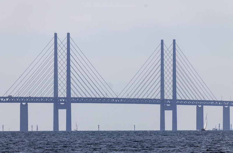 Öresundsbron Architecture Bridge Bridge - Man Made Structure Sea Suspension Bridge Waterfront Øresundsbron öresund öresundsbron øresund