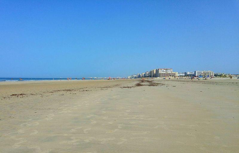 Sand Big Beach Cortadura Sea And Sky Seaside Tranquility Sea SPAIN Summer Mar Playa Vacaciones Holiday Tranquilidad Atlantic Ocean Cadiz Andalucia Spain Paseo Por La Playa Beach Walk Beach Europe